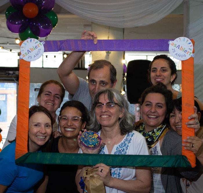 CasAbierta celebra 25 años de construcción y recorrido de caminos junto a mujeres