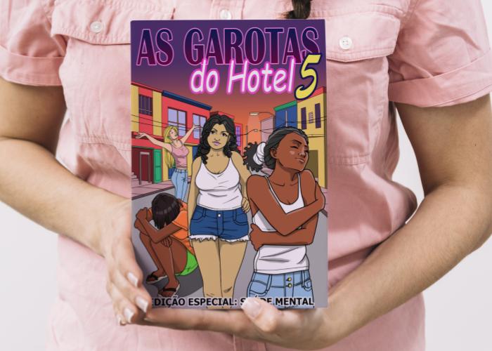 «As Garotas do Hotel»: Rede Oblata lança revista em quadrinhos sobre saúde mental e prostituição feminina